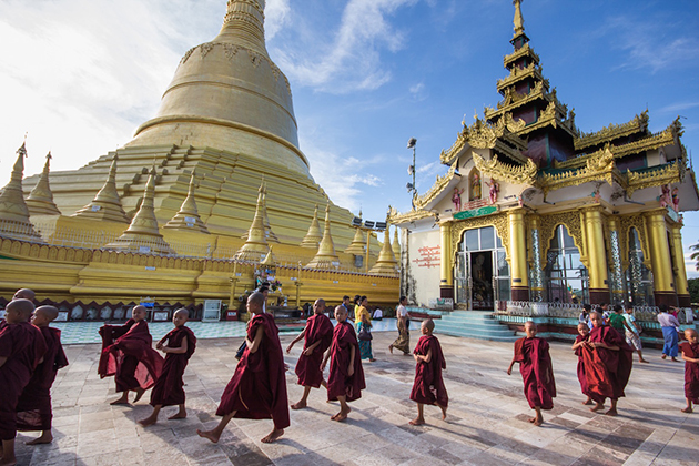 Myanmar Travel Shwedagon Pagoda