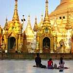 local pilgrims in Yangon - yangon city tour
