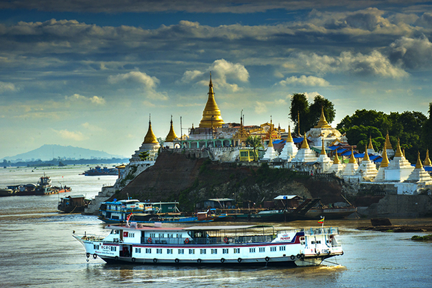 Mandalay to Bagan by Boat