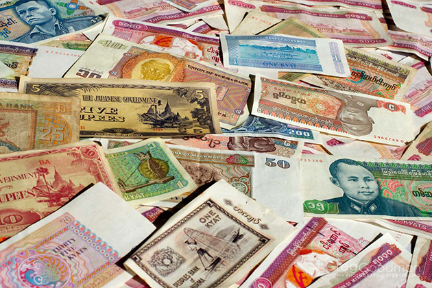 Myanmar Old Money
