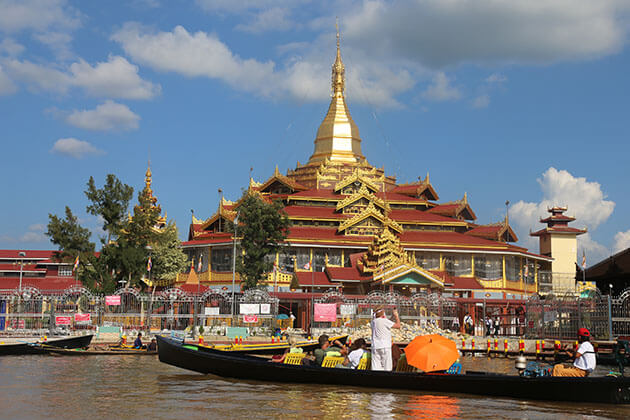 October is a good time to visit Myanmar