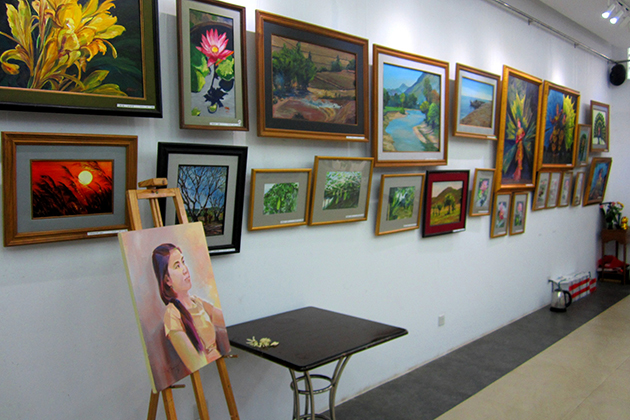 Nawaday Alley Gallery Yangon