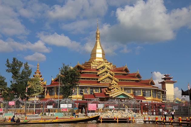 Phaung daw oo pagoda - a highlight of myanmar tour
