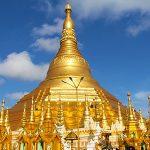 Shwedagon pagoda in myanmar tour