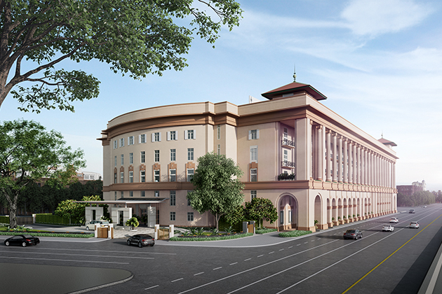 The New Opening in 2018 – The Heritage Hotel Kempinski Yangon