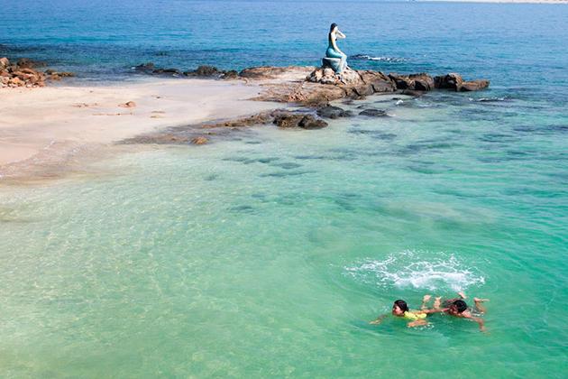 Beautiful Lover Island in Myanmar
