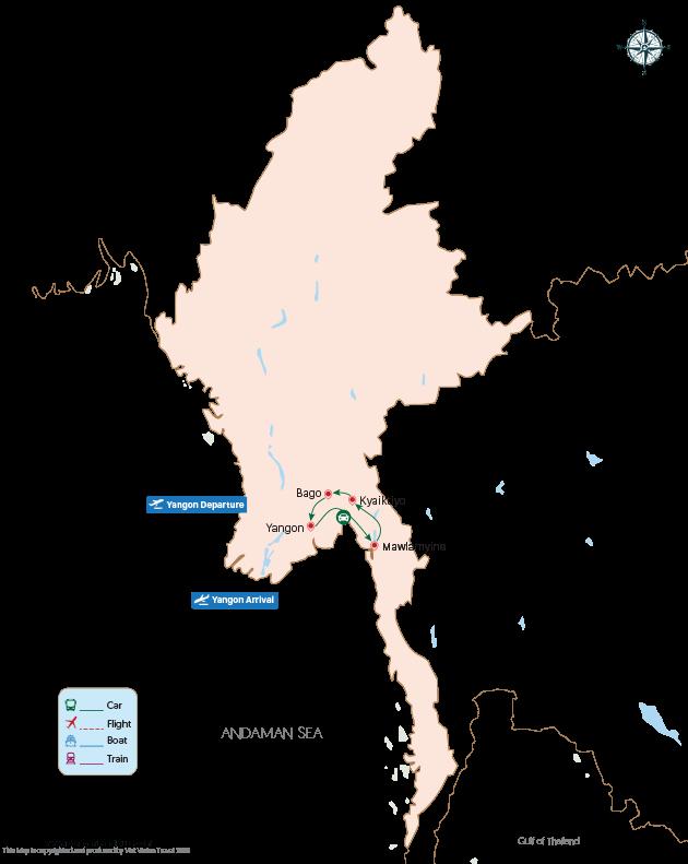 Mesmerizing Myanmar - 6 days