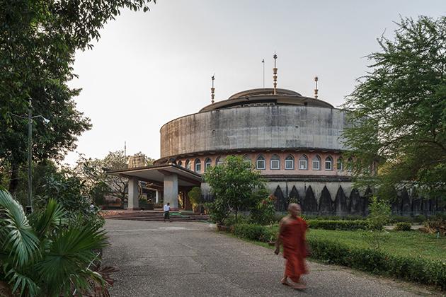 Yangon Tripitaka Library Architecture