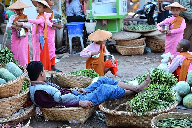 Zegyo Market Mandalay