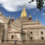 ananda temple is one of the finest manmade masterpieces in Bagan