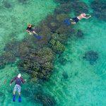 snorkeling in Nyaung Oo Phee Island