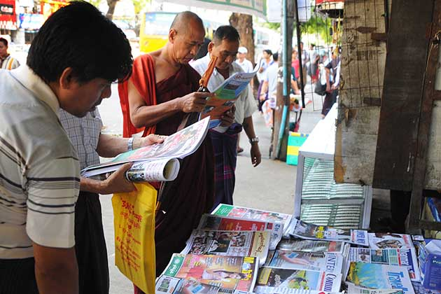 Myanmar facts Newsstand