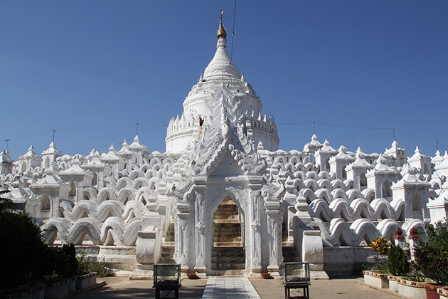 Mysterious Beauty of Hsinbyume Pagoda (Myatheindan)
