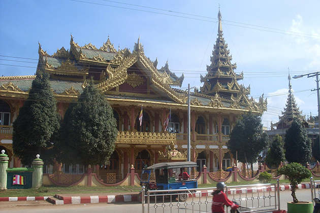 Temple in Lashio