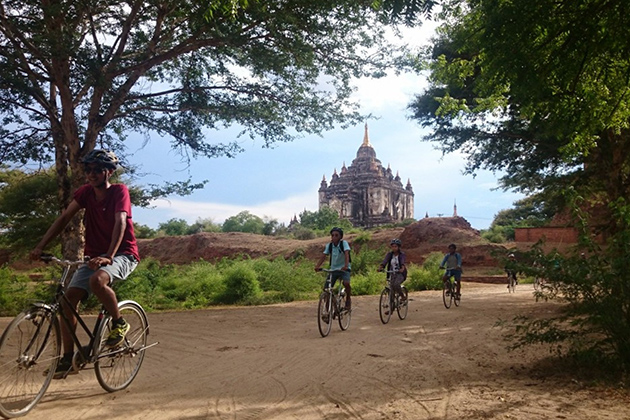Biking Trip in Bagan