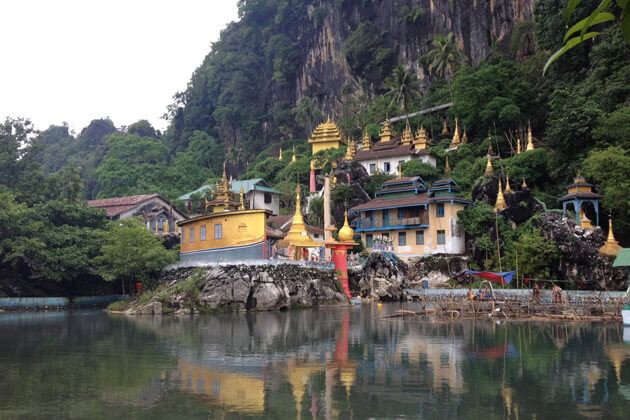 Hpa-An- an ideal destination in myanmar attractions