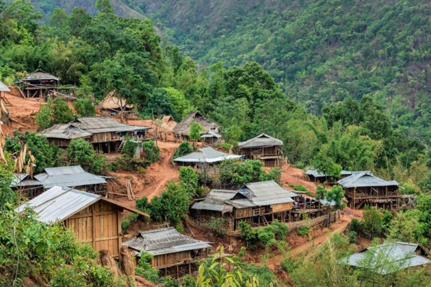 Kengtung-myanmar attractions to discover the vibrant ethnic groups in Myanmar