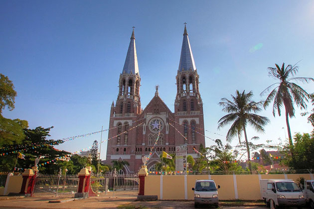 Saint Mary Cathedral in Yangon