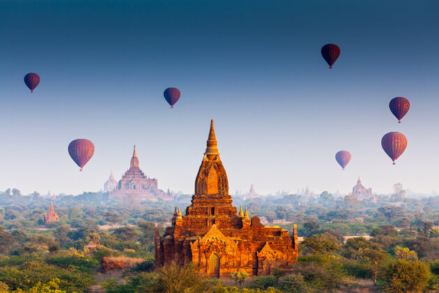 bagan-myanmar attractions to explore the hidden treasure