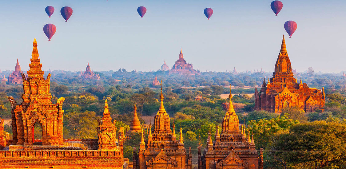 bagan temples - a highlight of burma tours