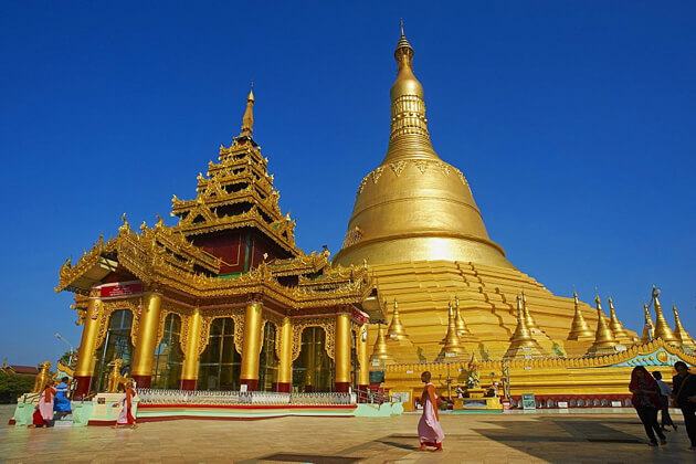 bago-the poetic city is one of the most popular attractions in myanmar