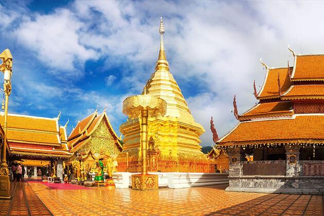 Doi Suthep chiang mai - myanmar thailand tour