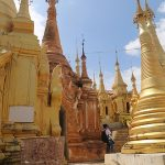 thousands of stupas in shwe indein temple - ideal place to visit in myanmar thailand tour