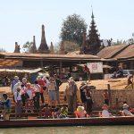 A boat trip to Indein village