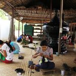 A local lacquerware worshop in Bagan