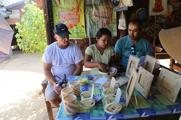 Bagan village visit