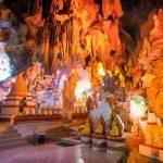 Golden Buddha images in Shwe U Min Pagoda