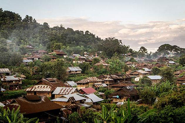 Hsipaw trekking in Myanmar ititnerary 4 weeks