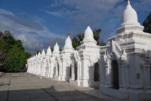 Kuthodaw Pagoda is home to the largest Buddha Book in the world