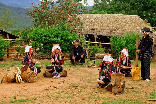 Meet the hill tribe in Kyaing Tong