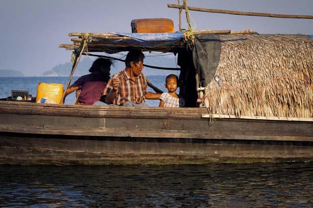 Moken sea nomads in Myeik Archipelago