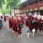 Monks at Mahagandayon Monastery
