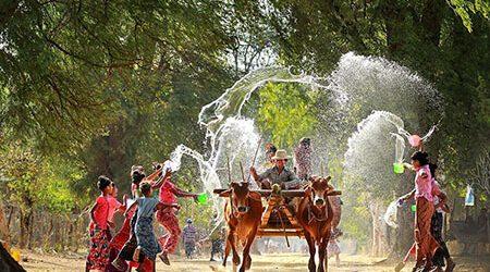 Myanmar Thingyan Water Festival Tour – 13 Days