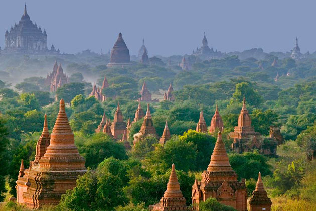Myanmar itinerary 5 days in the Magical Bagan