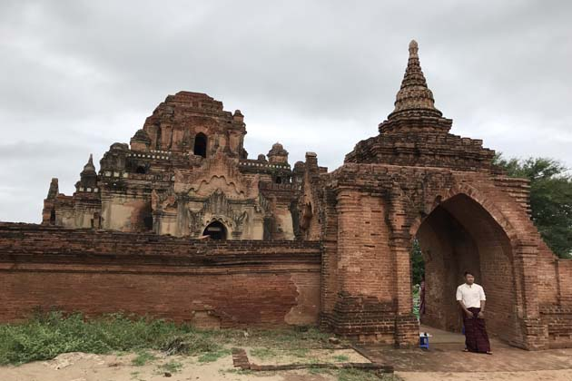 Nara Thihapatae Hpaya Temple in Bagan