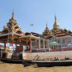 Phaung Daw Oo Pagoda in Inle Lake
