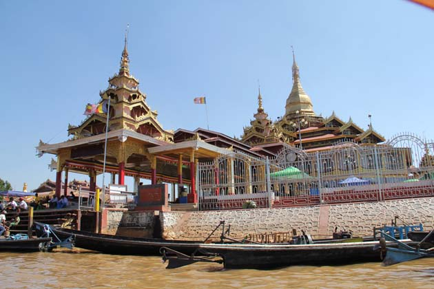 Phaung Daw Oo pagoda is the holiest religious site in southern Shan State