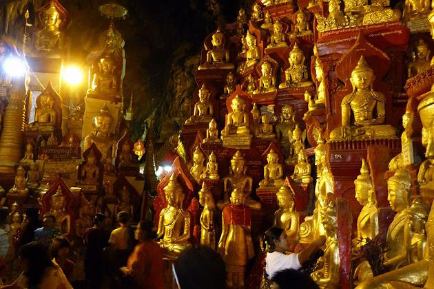 Pindaya Cave in Myanmar