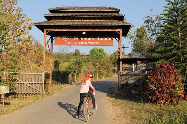 Red Mountain Estate in Nyang Shwe