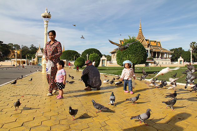 Royal Palace in Phnom Penh in Myanmar itinerary 4 weeks
