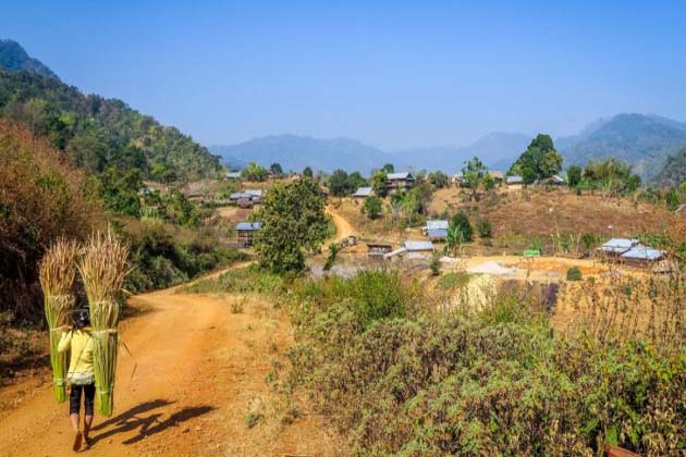 Shan village