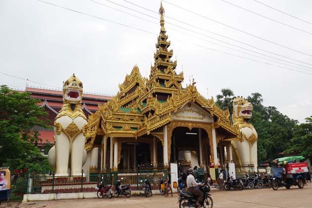 Shwethalyaung Pagoda in Bago