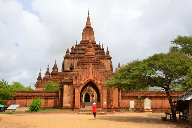 Sulamani Temple in Bagan