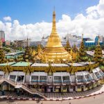 Sule Pagoda in the heart of Yangon