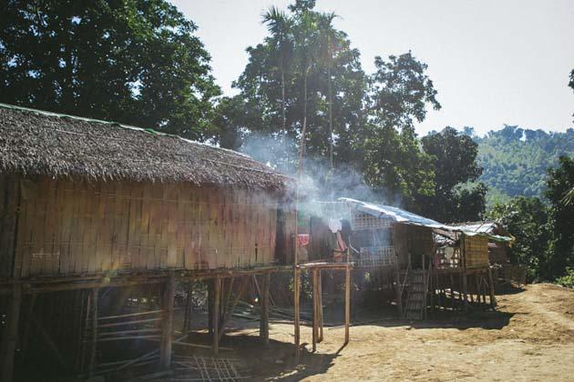 The Chin Village of Mrauk U