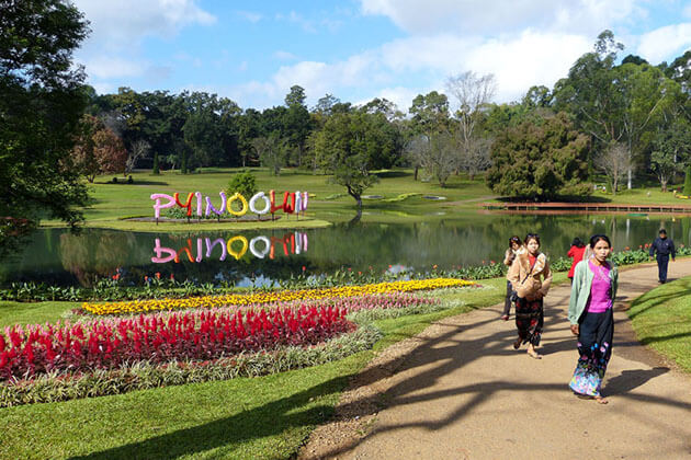 The National Kandawgyi Gardens in Pyin Oo Lwin